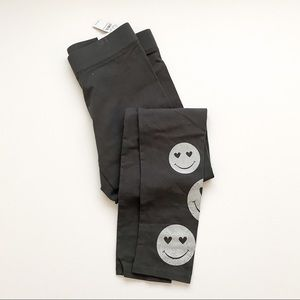 aerie by AEO smile face leggings
